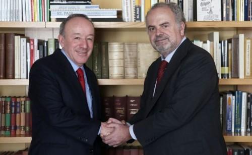 Roberto Alcántara e Ignacio Polanco