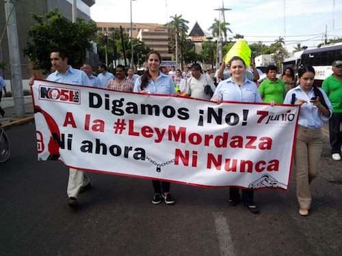 Protestan periodistas Culiacan