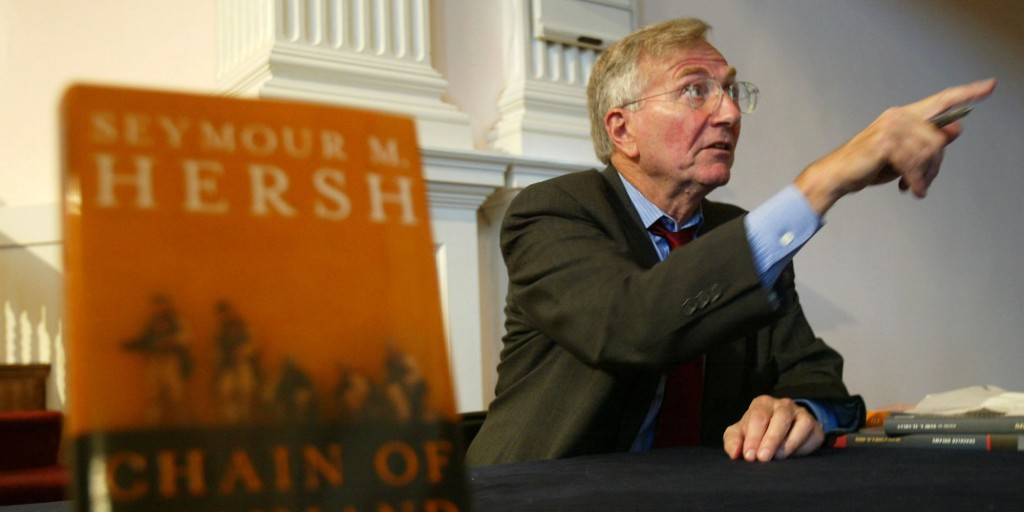 Seymour Hersh Promotes His Book Chain of Command
